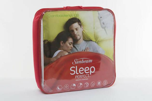 Sunbeam Sleep Perfect Electric Blanket Antibacterial BL5351