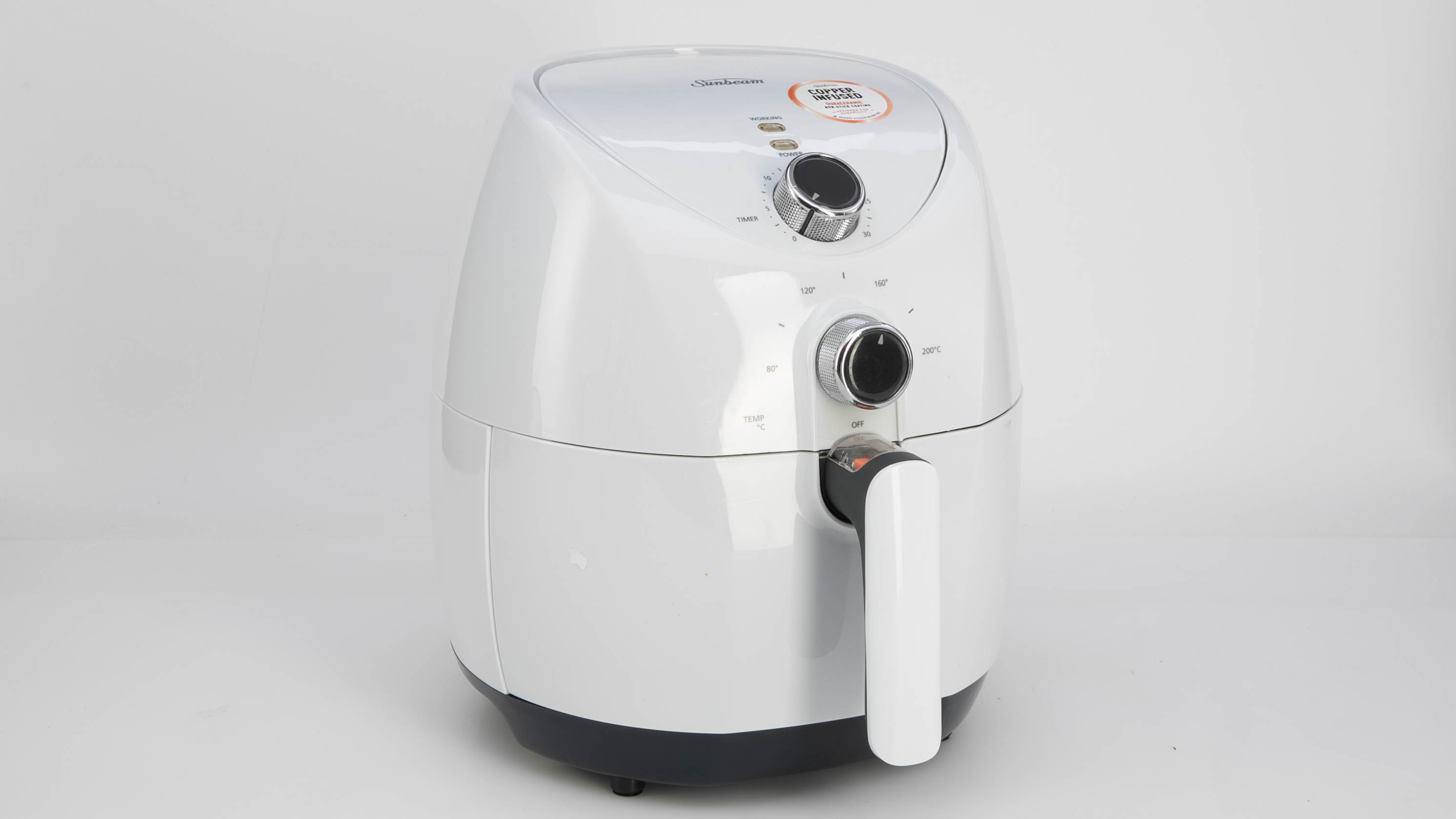 Sunbeam Copper Infused DuraCeramic Air Fryer AFP4000WH