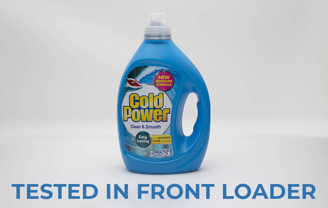 Cold Power Clean and Smooth Easy Ironing