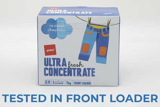 Pams Ultra Fresh Concentrate Front Loader