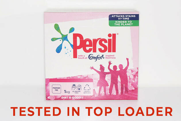 Persil with a Touch of Comfort Inspired Freshness