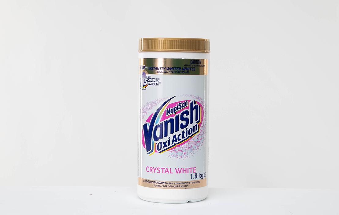 Vanish Napisan Oxi Action Gold Pro Crystal White