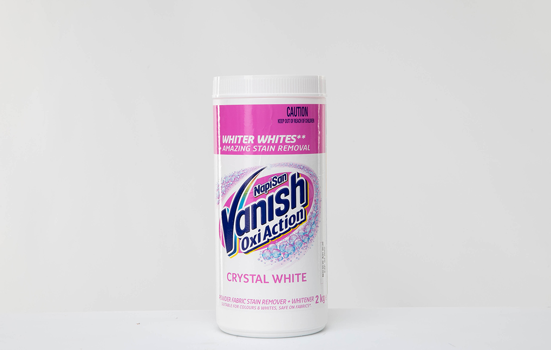 Vanish Napisan Oxi Action Crystal White Whiter Whites