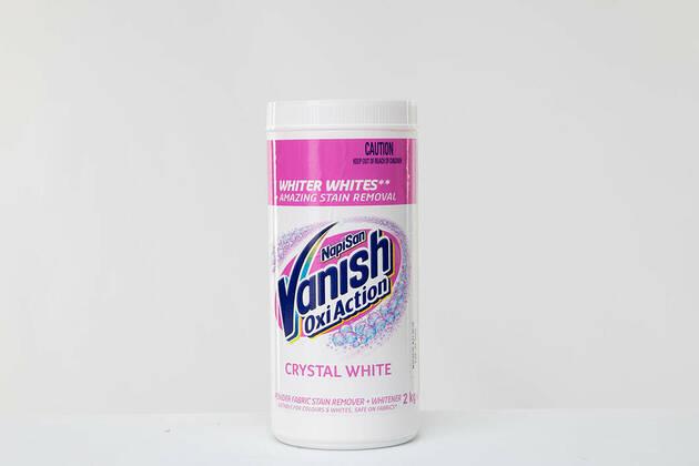 Vanish Napisan Oxi Action Crystal White Whiter Whites
