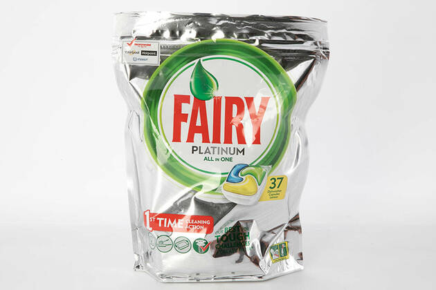 Fairy Platinum All In One Dishwasher Capsules