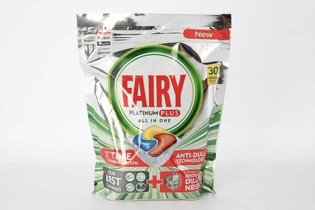 Fairy Platinum Plus All In One Dishwasher Capsules