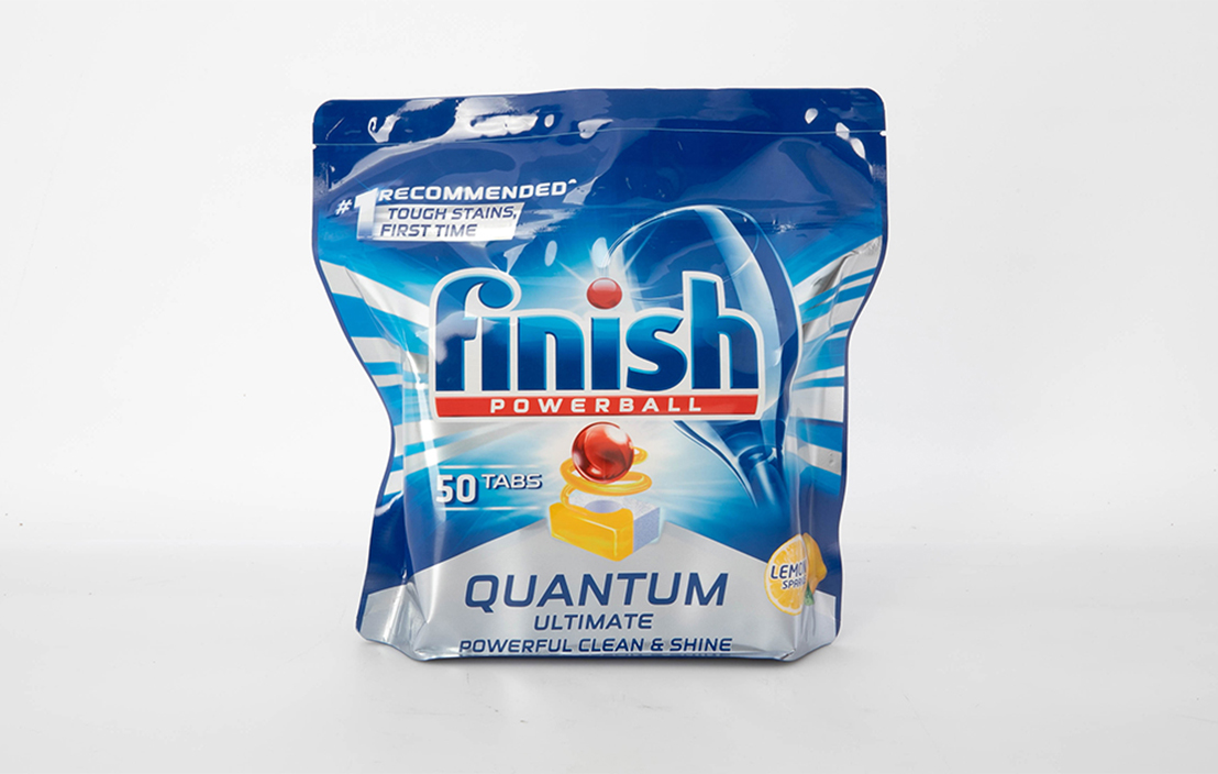 Finish Powerball Quantum Ultimate Powerful Clean & Shine Lemon Sparkle