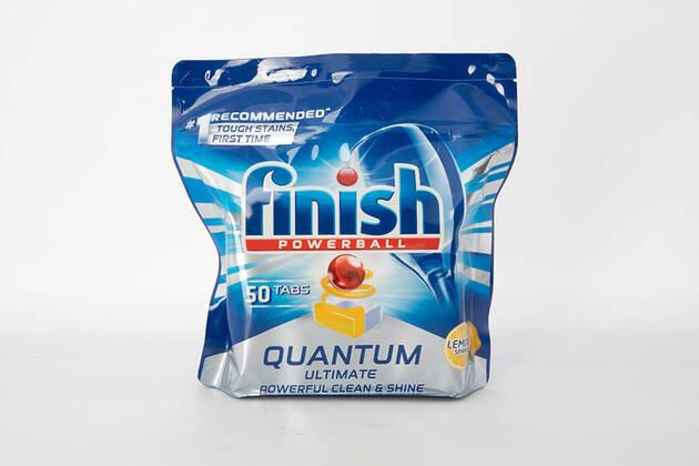 Finish Powerball Quantum Ultimate Powerful Clean & Shine Lemon Sparkle