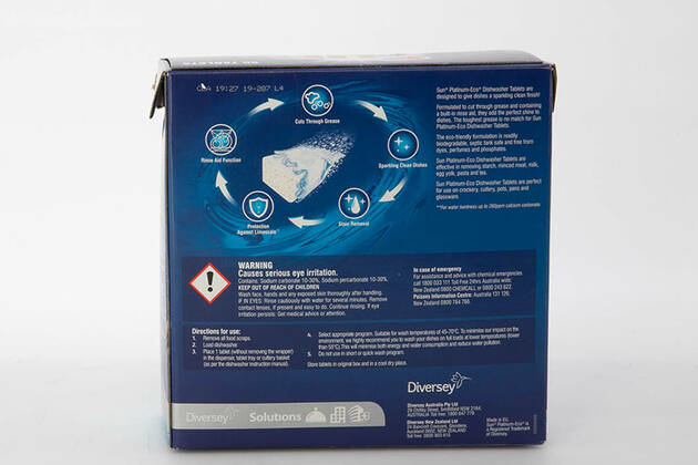 Sun Platinum Eco Dishwasher Tablets