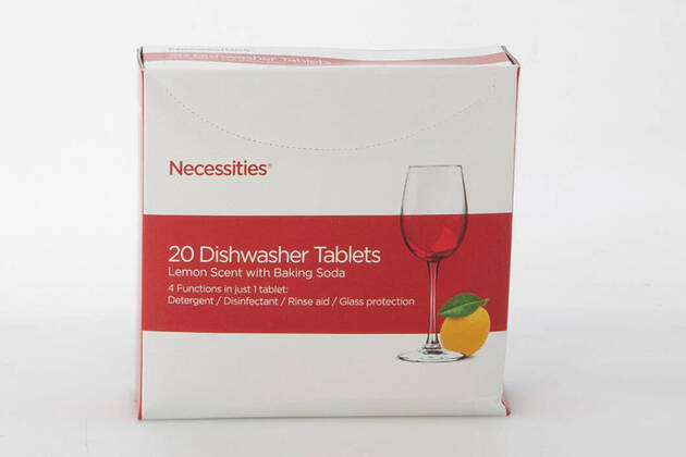 Necessities Dishwasher Tablets