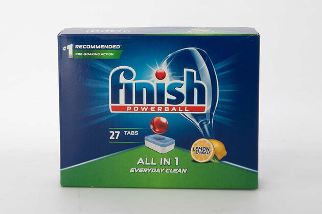 Finish Powerball All in 1 Everyday Clean Lemon Sparkle