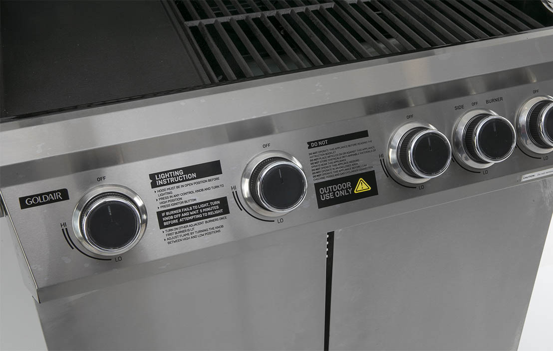 Goldair 4 Burner Antares BBQ GBQ275