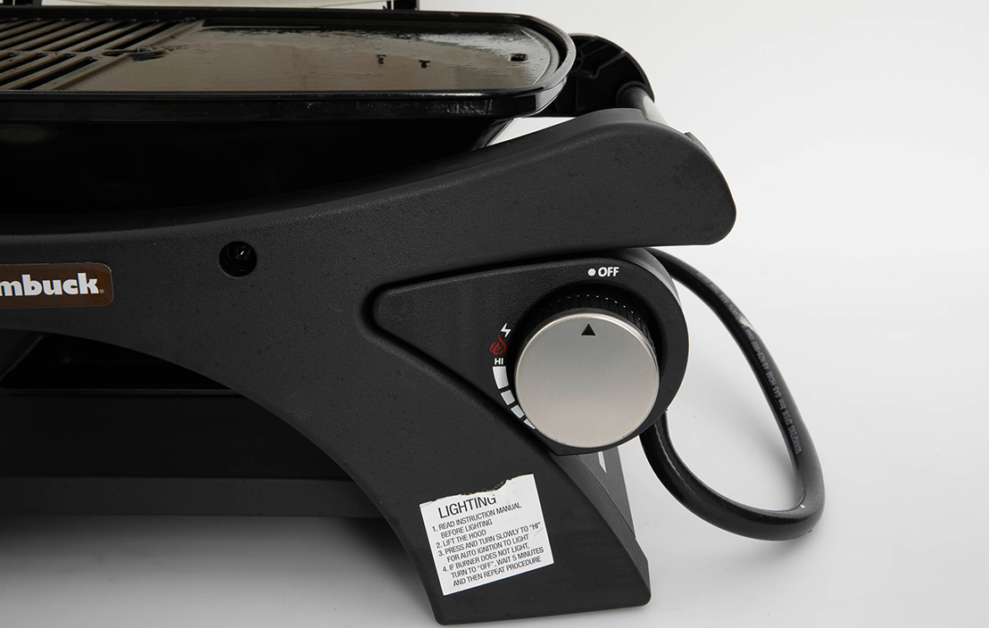 Jumbuck Single Burner Portable BBQ JBPB19