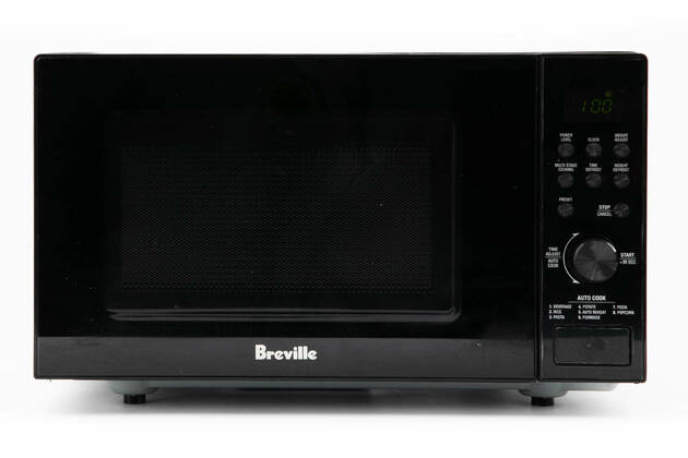 Breville the Silhouette Compact Flatbed LMO420BLK