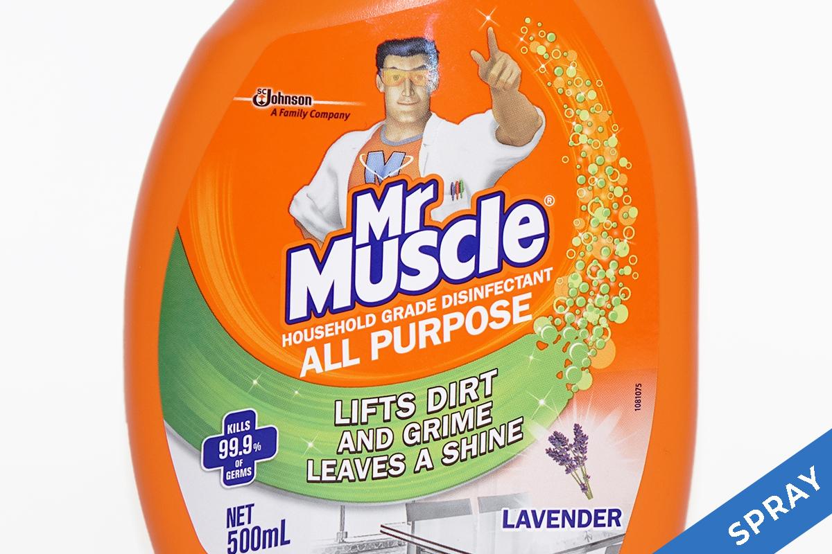 Mr Muscle multi-purpose cleaner