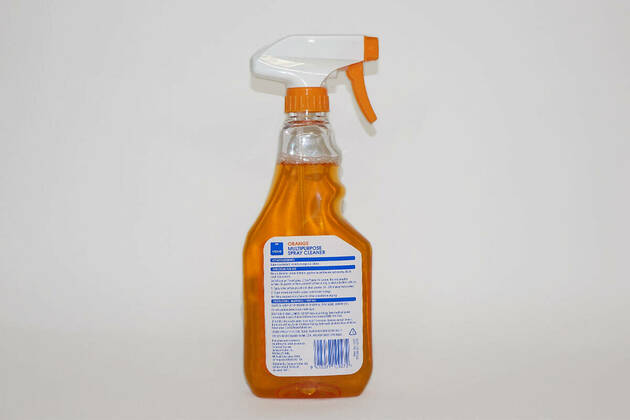 Value Orange Multipurpose spray cleaner
