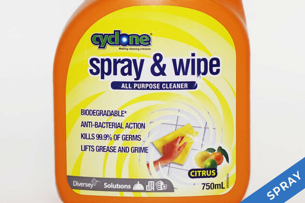 Cyclone Spray & Wipe All purpose cleaner