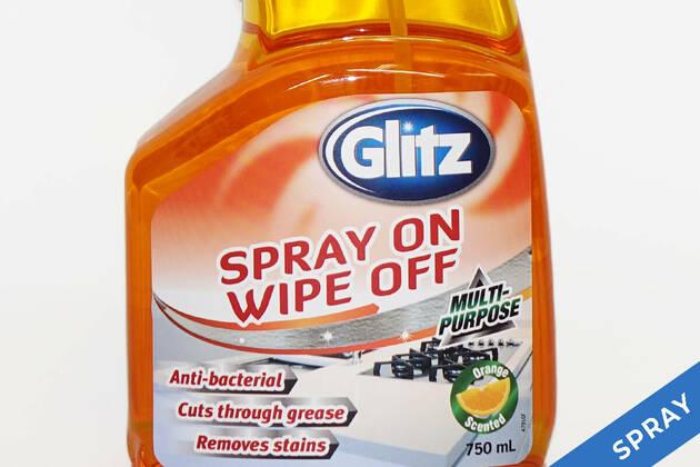 Glitz Spray On Wipe Off Multi Purpose