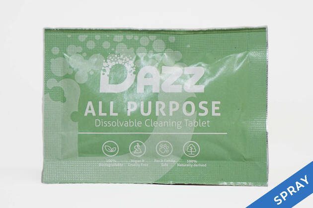 Dazz All Purpose Dissolvable Cleaning Tablet