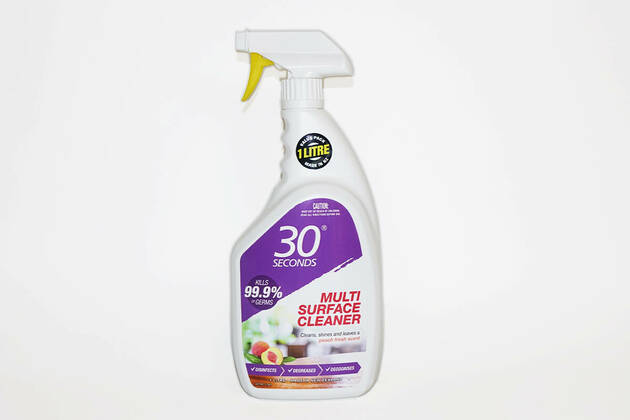30 seconds Multi Surface Cleaner