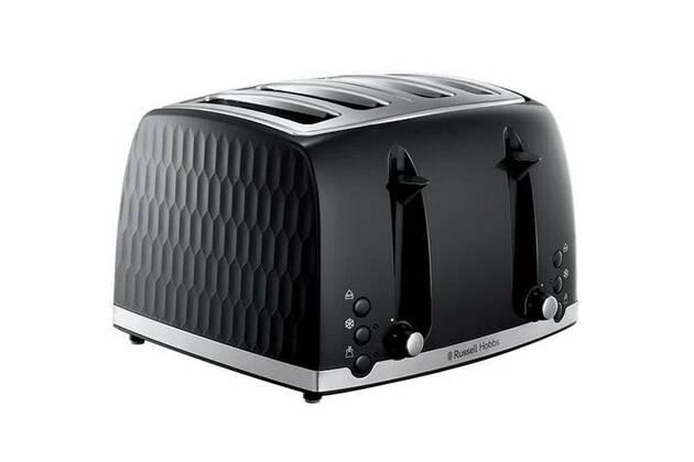 Russell Hobbs Honeycomb 4 Slice Toaster RHT704