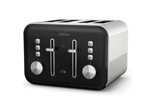 Sunbeam Simply Shine 4 Slice Toaster TAP4004