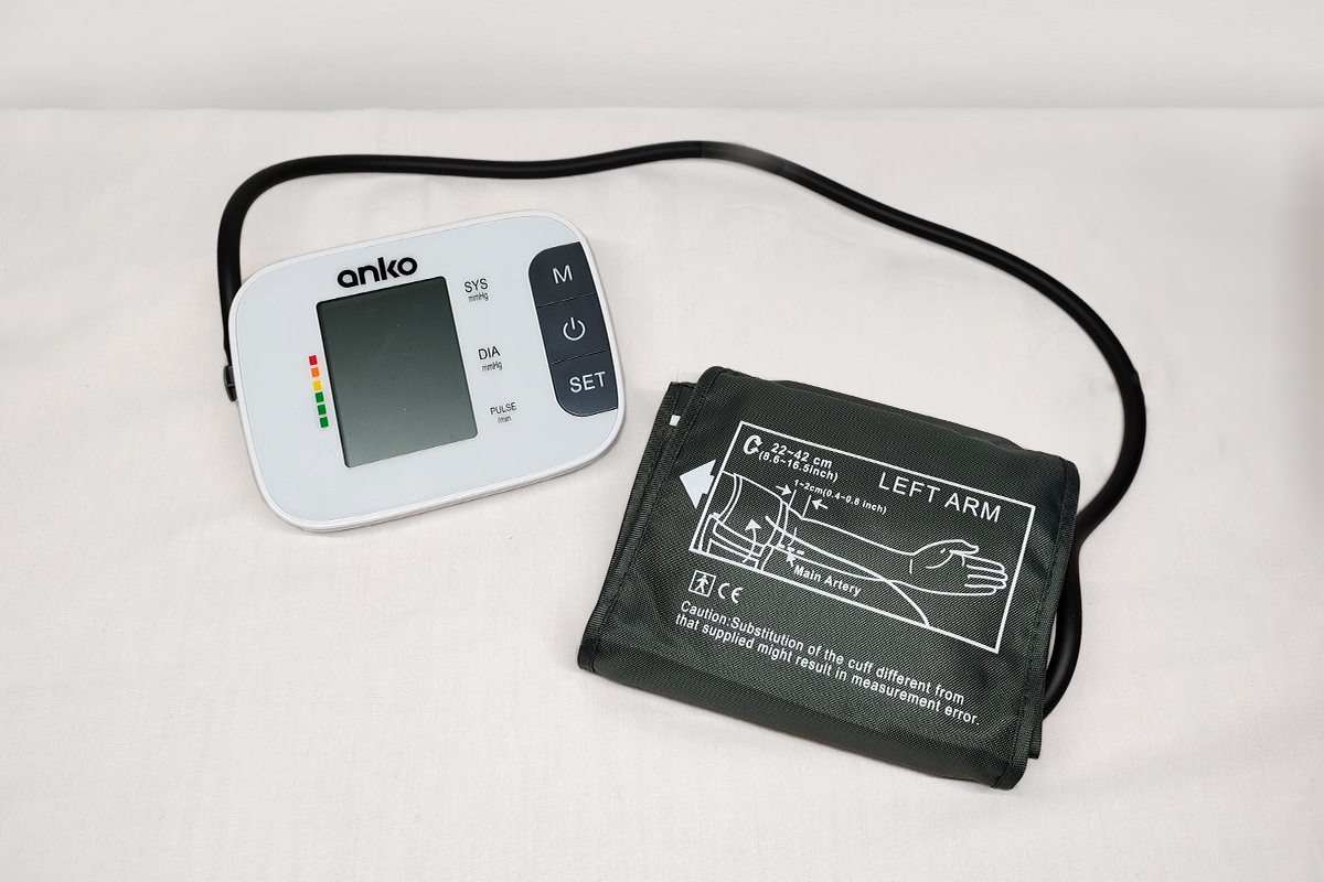Anko blood pressure monitor