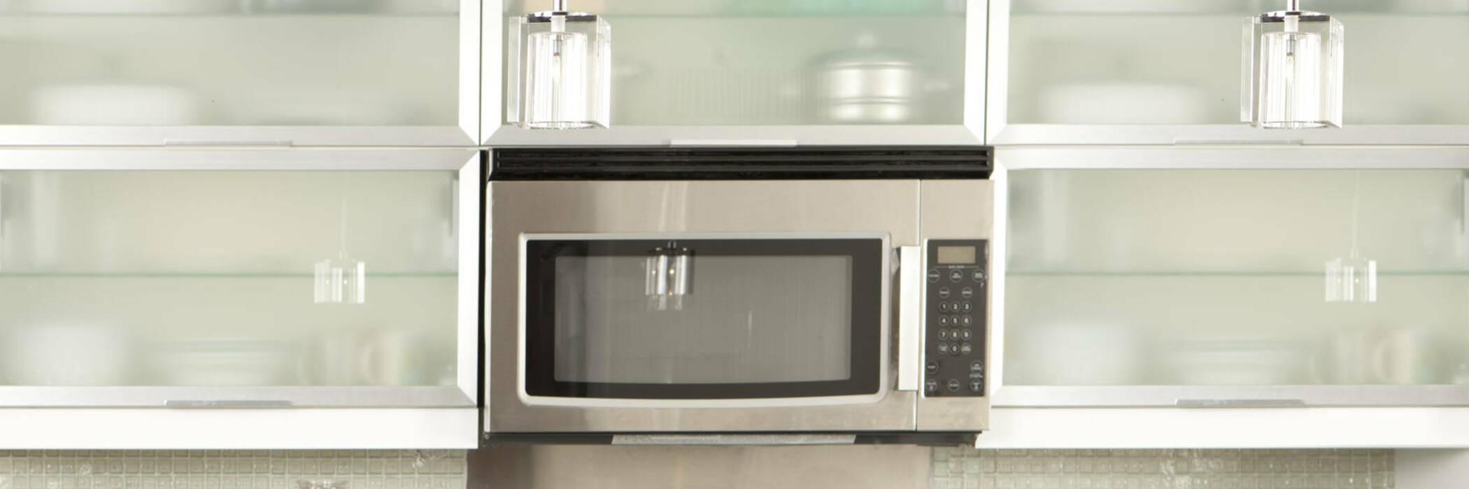 Built-in microwave.