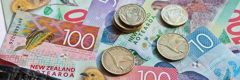 NZ cash and coins.