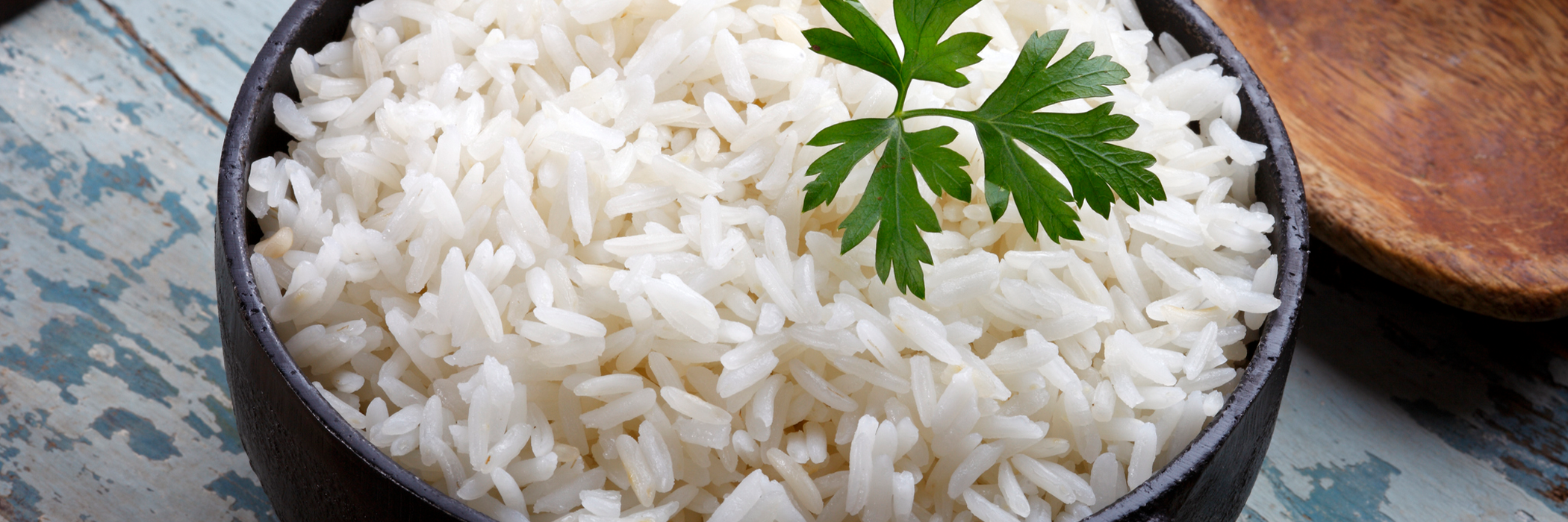 Image of a pot of cooked rice.