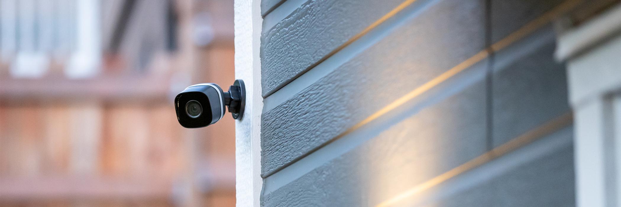 Outdoor security camera.